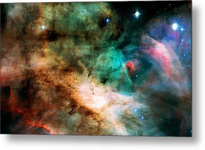 Omega Swan Nebula 2 Metal Print by Jennifer Rondinelli Reilly - Fine Art Photography