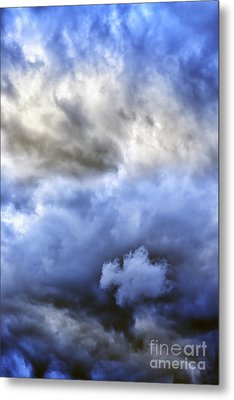 Ominous Storm Clouds Metal Print by Thomas R Fletcher
