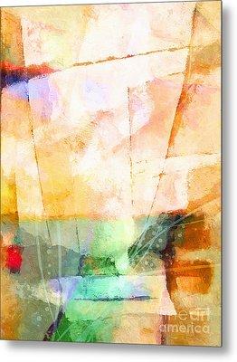 On A Light Day Metal Print by Lutz Baar