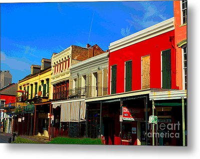 On Decatur Street Metal Print by Alys Caviness-Gober