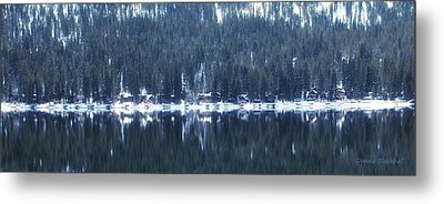 On Donner Metal Print by Donna Blackhall