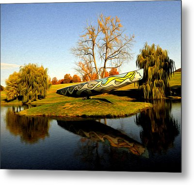 On Dry Land Metal Print by Terry Cosgrave