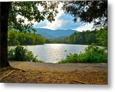 On Golden Pond Metal Print by Frozen in Time Fine Art Photography