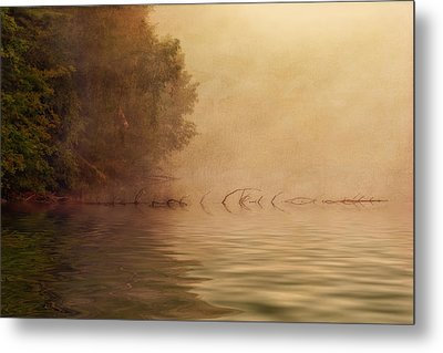 On Golden Pond Metal Print by Tom Mc Nemar