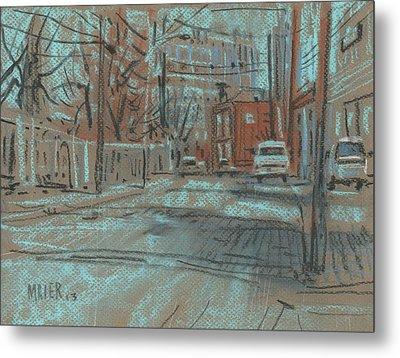 On Marietta Street Metal Print by Donald Maier