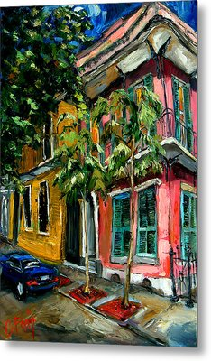 On St. Charles Metal Print by Carole Foret