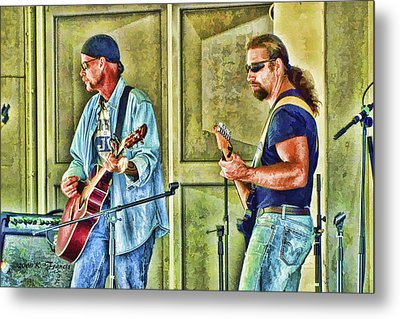 On Stage Metal Print by Kenny Francis