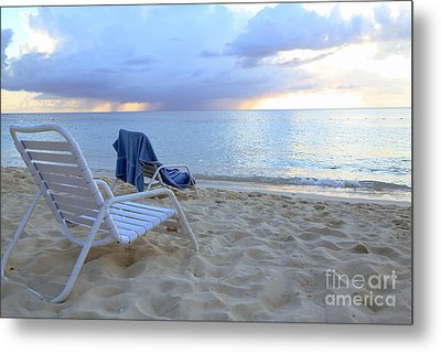 On The Beach Metal Print