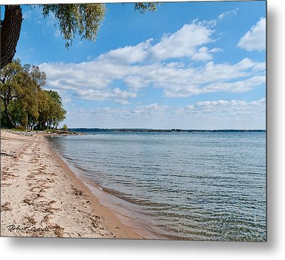 Metal Print featuring the photograph On The Beach II by Robert Culver