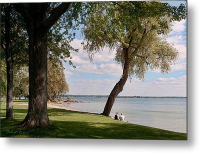 Metal Print featuring the photograph On The Beach IIi by Robert Culver
