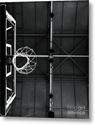 On The Court Metal Print by Ronnie Glover