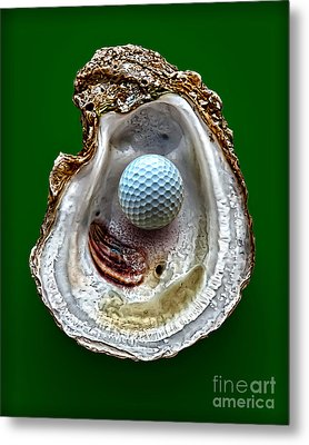 Hole In One Metal Print by Walt Foegelle