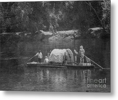 Metal Print featuring the photograph On The James by Pete Hellmann