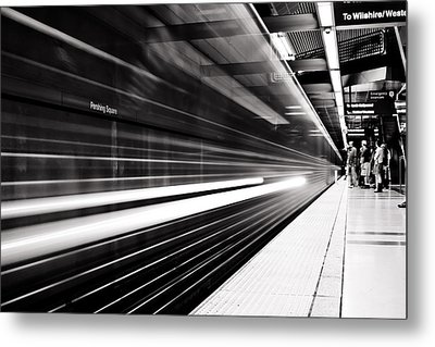 On The Move Metal Print by Andrew Raby