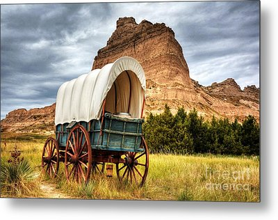 On The Oregon Trail Metal Print