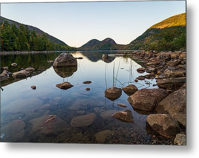 On The Pond Metal Print by Kristopher Schoenleber