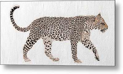 On The Prowl Metal Print by Stephanie Grant