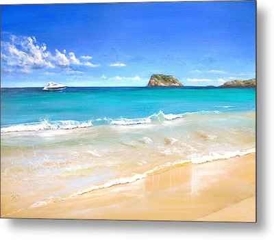 On The Quiet Side..... Metal Print by Heather Matthews