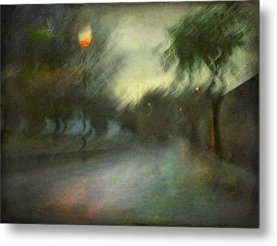 Metal Print featuring the photograph On The Road #12. Xynthia's Trail by Alfredo Gonzalez