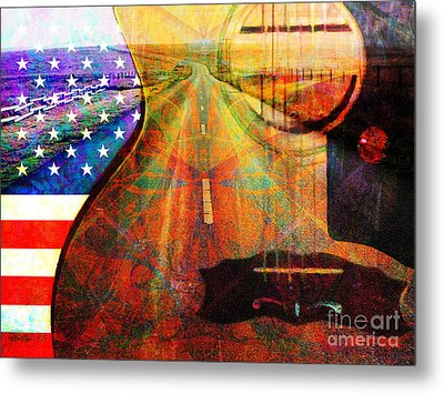 On The Road Again 20140716 Metal Print by Wingsdomain Art and Photography