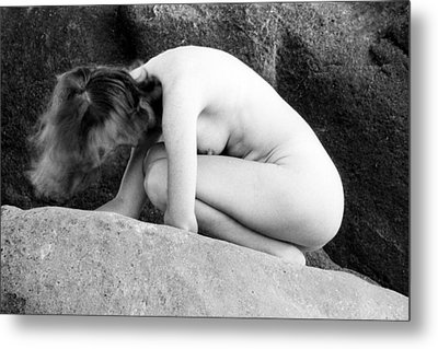 On The Rock Metal Print