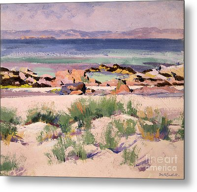 On The Shore  Iona  Metal Print by Francis Campbell Boileau Cadell