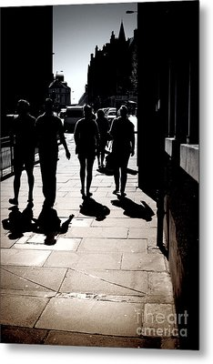 Metal Print featuring the photograph On The Street by Craig B