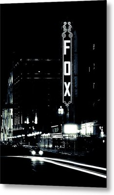 On The Town Metal Print by Scott Rackers