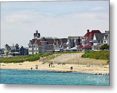 On The Vineyard Metal Print by Michelle Wiarda