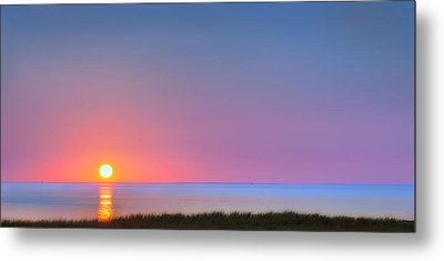 On The Water Metal Print by Bill Wakeley