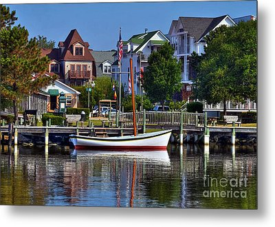 On The Waterfront Metal Print by Mel Steinhauer