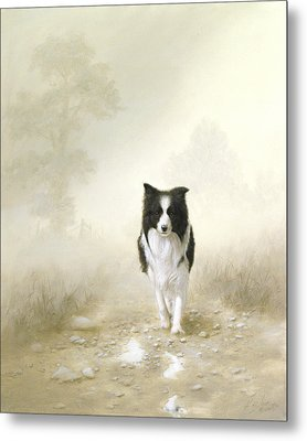 On The Way Home Metal Print by John Silver