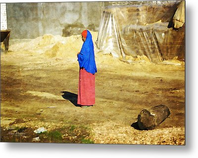 On The Way To Alexandria Metal Print by Mary Machare