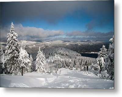 on the Wurmberg II Metal Print by Andreas Levi