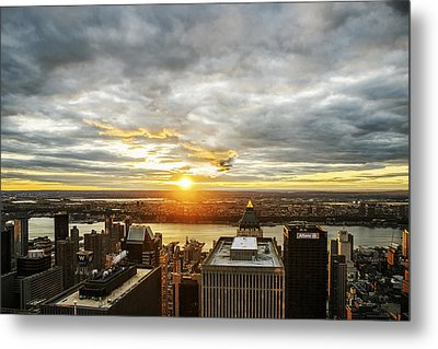 Metal Print featuring the photograph On Top Of The World  by Anthony Fields