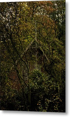 Once A Fortress Metal Print by Odd Jeppesen