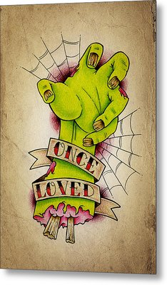 Once Loved Metal Print by Samuel Whitton