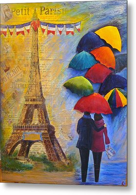 Once Upon A Time In Paris Metal Print
