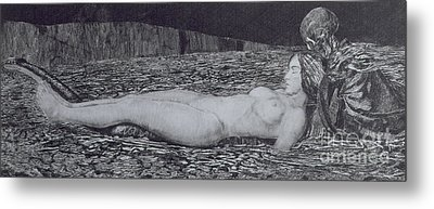 One Corpse Metal Print by August Bromse