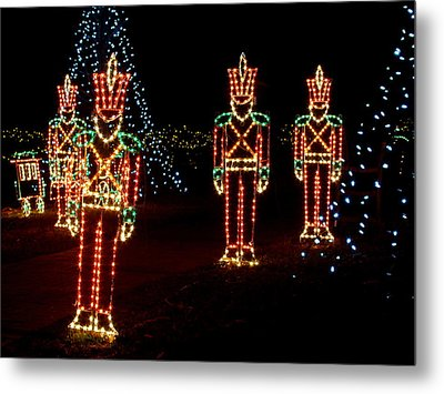 One Crooked Toy Soldier Metal Print
