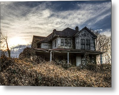 One Day I Will Return ... Metal Print by Aaron Morgan