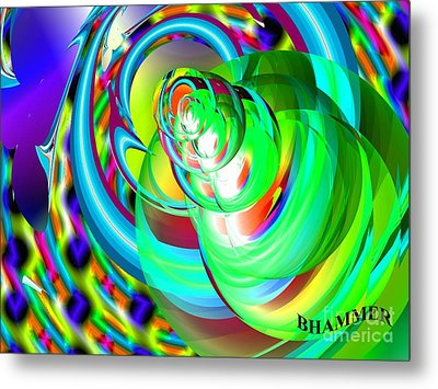 One Drop Metal Print by Bobby Hammerstone
