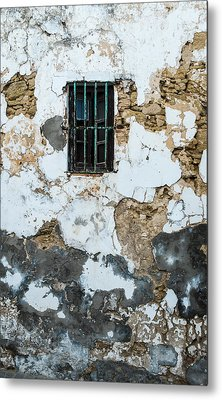 One Eyed Wall Metal Print