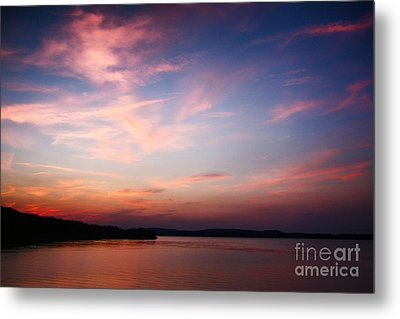 Metal Print featuring the photograph One Fine Sunset by Polly Peacock