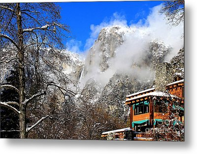 One Fine Winter Morning 2 Metal Print by Theresa Ramos-DuVon