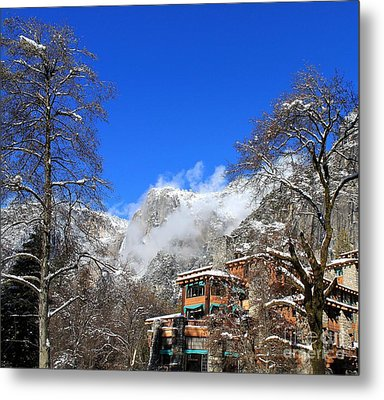 One Fine Winter Morning Metal Print