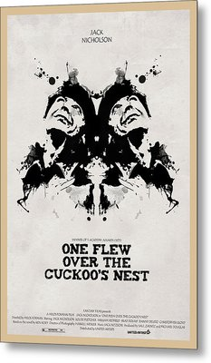 One Flew Over The Cuckoos Nest Alternative Poster Metal Print