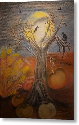 One Hallowed Eve Metal Print by Maria Urso