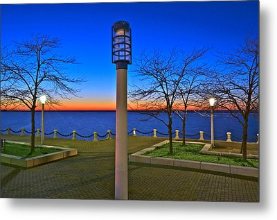 One If By Land Two If By Sea Metal Print by Frozen in Time Fine Art Photography