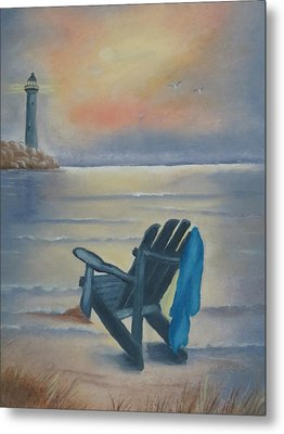 One Is A Lonely Number Metal Print by Kay Novy